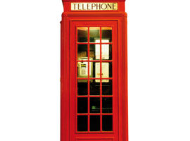 Una telephone box